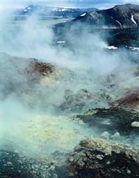 Steam Vent, Landmannalaugar, 1972