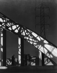 Sixth Street Bridge, Pattern in Steel and Shadows, 1932