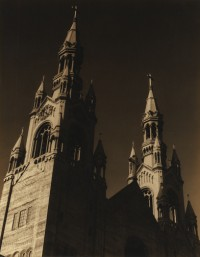 Church Spires, Columbus Avenue, 1936