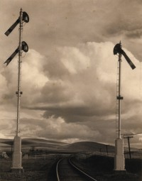 Signals and Clouds in Desert, 1936