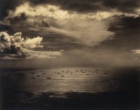 Panorama of Invasion Fleet off the Coast of Morocco, 1942