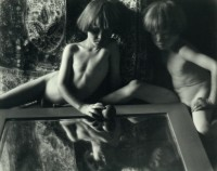 Imogen Cunningham - Twins With Mirror, 1923