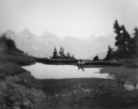 Imogen Cunningham - On Mount Rainier 2, 1915