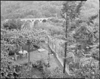 View from Pitigliano, 1987