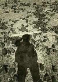 Rondal Partridge - Self Portrait, Desert, 1989