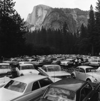 Rondal Partridge - Pave it and Paint it Green, Yosemite National Park, mid-1960s