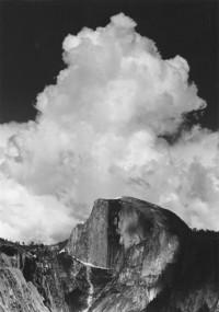 Half Dome, Thunder Cloud, circa, 1956