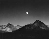 Moonrise from Glacier Point, Yosemite National Park, California, 1948