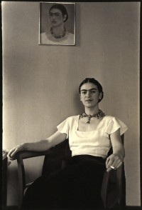Frida at the Barbizon Plaza Hotel, New York City, NY 1931