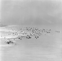 Hazy Day Huntington Beach, circa 1963