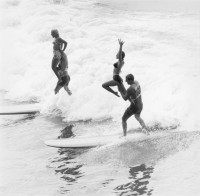 Tandem Surf Contest, Huntington Beach, circa 1964