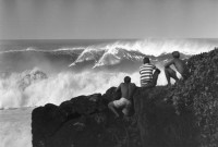 Watching the Waves, Waiema Bay Hawaii, 1962