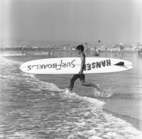 Ron Church – Hansen Surf Board Surf Contestant, circa 1963