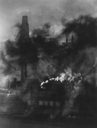 W. Eugene Smith – Untitled (Industrial Area, Heavy Smog), circa. 1955-56