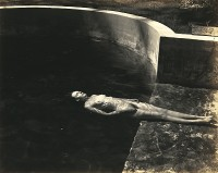 Edward Weston, Floating Nude, 1939