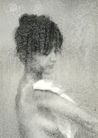 George Tice, Marie In The Shower, 1964