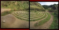 Michael Rauner, Labyrinth, Sibley Volcanic Regional Preserve, Oakland, CA