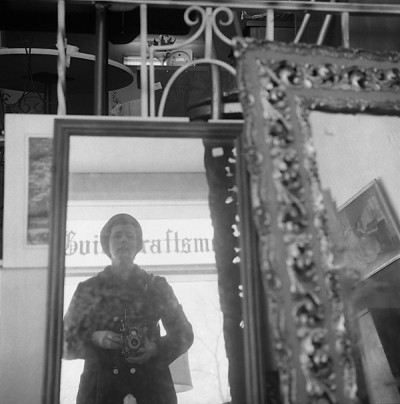 North Shore, Chicago (Self Portrait, Antique Mirrors), 1973