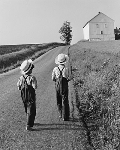 Two Amish Boys, 1962