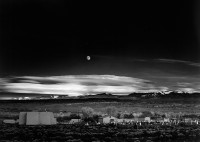 Ansel Adams, Moonrise, Hernandez, New Mexico (Cancelled), 1942