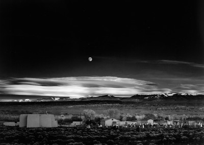 Ansel Adams, Moonrise, Hernandez, New Mexico (Cancelled), 1941