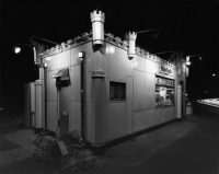 George Tice, White Castle, Route #1, Rahway, NJ, 1973