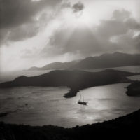 Margo Davis, English Harbour, Antigua, 1967