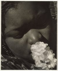 Consuelo Kanaga, Frances with a Flower, Early 1930s