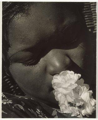 Consuelo Kanaga, Frances with a Flower, Early 1930s