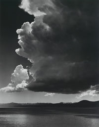 Ansel Adams, Thundercloud, Lake Tahoe, 1936