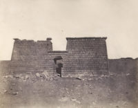 John Buckley Greene, Quadi Esseboua Vue Du Temple Number 2,1854