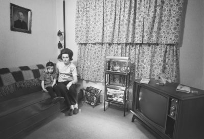 Barbara's Friends, Living Room, New Bedford, MA 1972