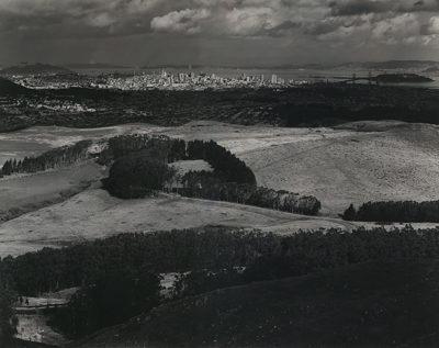 Ansel Adams, San Francisco from Television Park, San Bruno