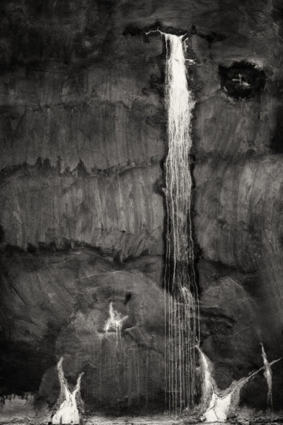 Cara Weston, Tank Waterfall, Carmel Valley, 2012