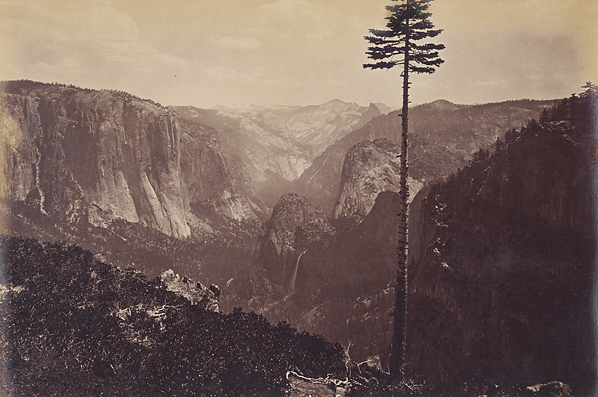 Carleton Watkins, Best General View, Yosemite, c. 1867