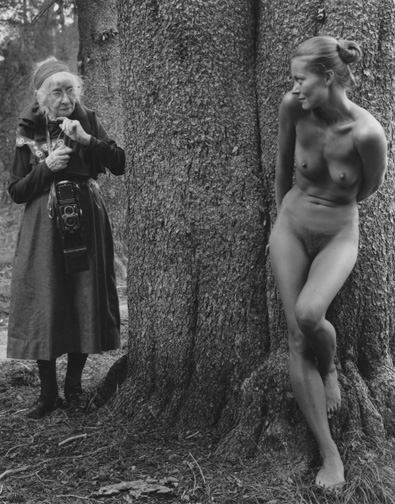 Judy Dater, Imogen and Twinka, Yosemite, 1974