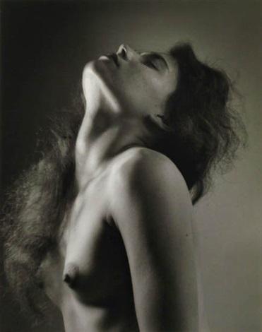 Ruth Bernhard, Neck Study, 1958