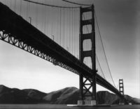 Brett Weston, Golden Gate Bridge, San Francisco, 1938