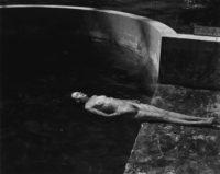 Edward Weston, Nude Floating (Charis), 1939