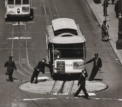 Max Yavno, Cable Car, San Francisco, 1947
