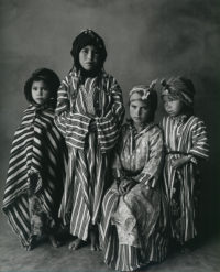 Irving Penn, Four Girl Children, Morocco, 1971
