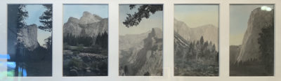 B. Bellport, Yosemite (Hand Colored Photographs), c. 1900