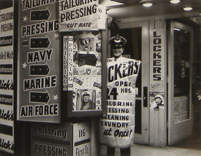 Harry Bowden, Military Supplies, First Street, San Francisco, 1954