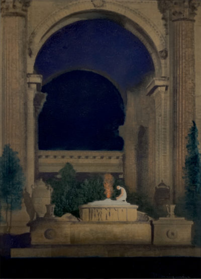 Francis Bruguiere, Palace of Fine Arts, Pan Pacific Exposition, San Francisco, 1916