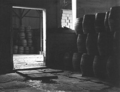 Johan Hagemeyer, Brewery Barrels, c1938