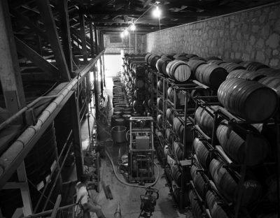 Jonathan Clark, Novitiate Winery Cellars #3, 1972
