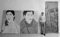 Kurt Fishback, Alex Katz, 1982