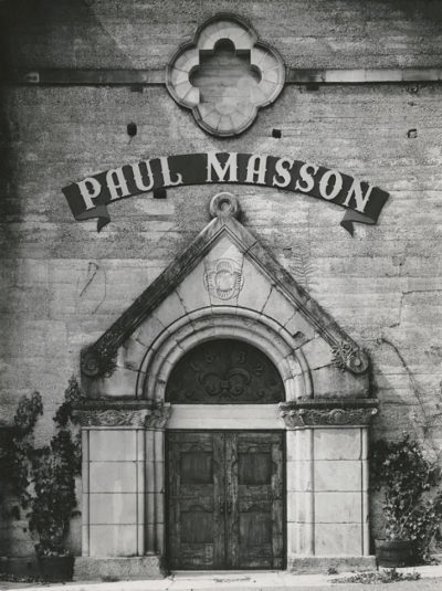 Ansel Adams, Facade, Paul Masson Vineyards, 1959