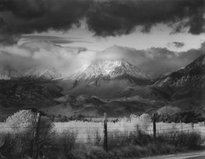 Bruce Barnbaum, Basin Mountain, Approaching Storm, 1973