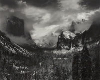 "Ansel Adams, Clearing Winter Storm, c1937, printed early 1970s, 16"" x 20"""